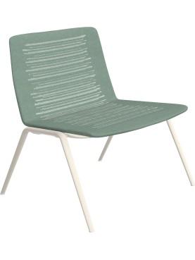 Zebra Knit Lounge armchair