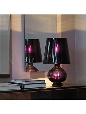 Fontana Total Black Table Lamp