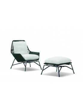 Prince Cord Outdoor Armchair