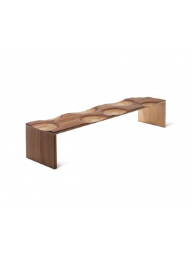 Ripples Outdoor Bench